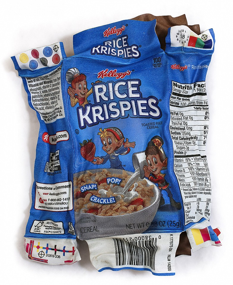 Paul Rousso, Rice Krispies Fun Size #2 Mixed media on hand-sculpted styrene