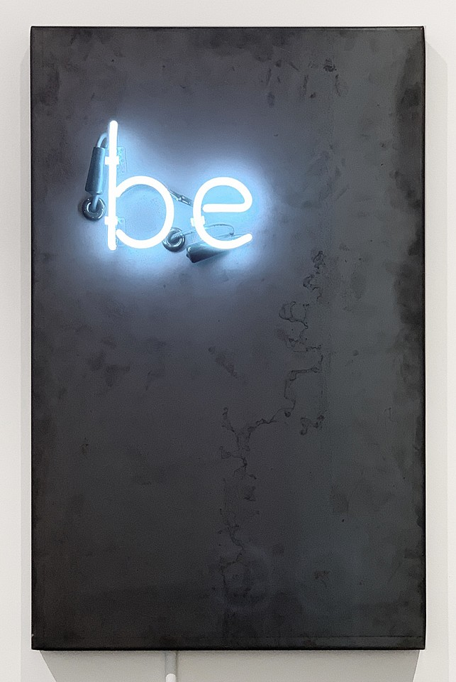 David McCauley, Be Steel with neon